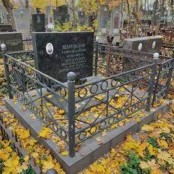 Уборка могилы. Берковецкое кладбище. До